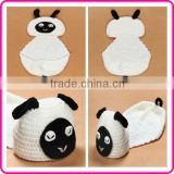 knitting baby photogrpahy props cheap newborn baby clothing set baby beanie photo props