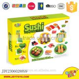 Plasticine set DIY children educational toy 3D modeling clay sushi colorful play dough