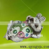 Lively cement frog Garden Decoration