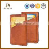 2016 new design oil painting pu leather id card holder and business card holder                                                                         Quality Choice