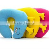 travel neck pillow/best gift bluetooth wireless portable plush travel mini neck mp3 music speaker pillow