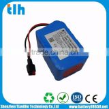 4S6P 14.8V 13.2Ah li-ion battery pack for remote electric golf trolley