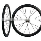 60T Best Tubular Wheelset 60mm Tubular Carbon Wheel/Carbon Road Wheels In 700C