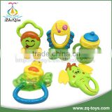 Brand new hand ring bell hand bell ring baby teether toy for wholesales