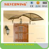 DIY economic metal roof cover with winter canopy supports aluminum awning parts