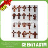 2016 Super quality decorative wooden crosses,wooden decorative crosses,wooden crosses for craft                                                                         Quality Choice