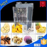Thermal cycle fruit/vegetable drying box,mini household pineapple slice drum dryer                                                                         Quality Choice
