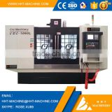 HHT brand 4 axis cnc vertical machining center VMC-1160L price with fanuc 0i mate td control system
