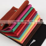 figured sea-island staple fiber Nonwoven microfiber suede leather for sofa, shoes, bags and etc