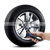 2016 hot sale 8 in 1 tire pressure gauge with car hammertire inflator with digital gauge