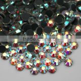 Wholesale 1440pcs SS20 5mm Hotfix Iron Flat-back Crystal Rhinestones Clear AB