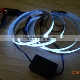 Car Lighting decoration special-purpose DC12V Flash light 1500mmX10mm lighting White EL tape