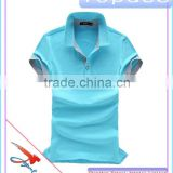 Cotton Spandex Short Sleeve Sports Jerseys Golf Shirt Tennis Fashion Style Pique Polo Shirt for Men