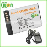 3.7V 2500mAh Battery for Garmin Montana 600, 650, 650T Replacement Battery and charger Kit