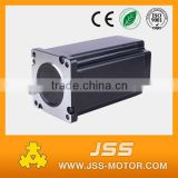 NEMA34 unipolar/ bipolar CNC stepper motor with electromagnetic brake, 86 mm electric brake stepper