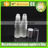 essential oil use and personal care industrial use glass roll on bottles eye cream ball bottle
