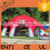 advertising Sunbelt Inflatable Tents / inflatable red bull star tent / inflatable air dome tent for sale