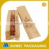 china paper wholesale recycled brown paper bag for baguette bread