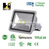 wifi control RGB 2015 NEW Bridgelux MEANWELL Driver IP65 Outdoor led flood light with100-480V