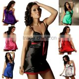 L-4L Babydoll 2013 small quantity transparent silk rose color lingerie for fat women babydoll