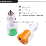With blister packing CE & Rohs 3.1a daul usb ar chargers for mobile phones
