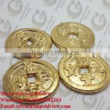 Wholesale custom cheap souvenir fake gold coin,Factory direct gold metal custom making coin