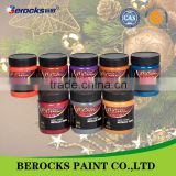 acrylic paint msds metallic paint/copper metallic paint for fabric