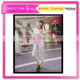 The new female summer bra show thin trousers sexy quick-drying breathable running high spring sports gym yoga suit