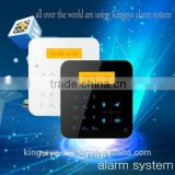 Hot selling gsm phone auto dial wireless fire intelligent security alarm system for sales