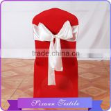 2016 Newest Plain Dyed Wedding Satin Bling Bling chair sashes wholesale
