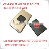 Hot Sale Cheapest OEM Portable 4G LTE Wireless WiFi Router And 4G Mobile WiFi Hotspot
