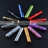 MUB hot sale 6ml mini portable perfume atomizer spray bottles empty bottles 12 colors can choose