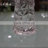 Crystal glass vase large fashion Home Furnishing modern European living Decor floral floral ornaments