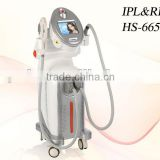 Redness Removal E Light Ipl Rf Beauty Equipment HS 665 Ipl Laser Hair Removal Machine Price By Shanghai Med Apolo Face Lifting
