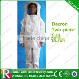 Dacron two-piece high quality bee keeping suits