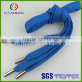 Factory custom polyester shoe lace whit special tips