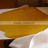 beeswax foundation sheets from manufacture