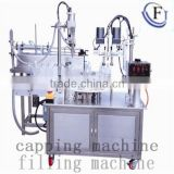 promotion factory price small dose liquid/small volume liquid /eyedrop plastic bottle filling and capping machine