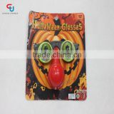 Halloween children toy pop eye glasses with nose