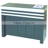 Nail salon reception desk Solid wood office table design receptionist table F-C31A