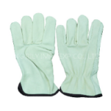 9.5 inch pig leather driver gloves(RYG14)