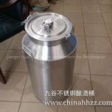 50L luxury copper and stainless steel keg and canned beer making equipment in China