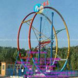 Outdoor Amusement Park Equipment Flying Ring Car For Sale