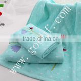 100% cotton soft face towel for kids