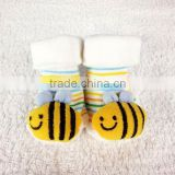 Cute Red SunflowerNewborn Anti Slip Floor Socks Baby Fashion Cotton Socks Lovely Booties Infant Slipper Socks