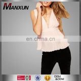 Buy Wholesale Direct From China Deep Neck Top Ladies Fancy Tops High Neck Sexy Low Cut V Neck Tops