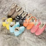 Winter thickened high-top down shoes