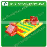 inflatable soap football field/inflatable football field/ inflatable football court for kids