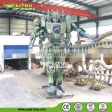 Huge size electronic transform mechanical robot for exhibition