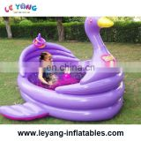 Backyard ocean swan Inflatable Pool For Sale /Custom Inflatable Pool Toys /Giant Inflatable Pool Float